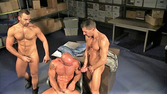 Gay Threesome with a Neighbor