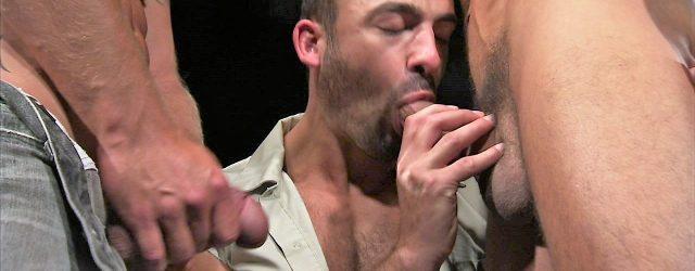 Gay Neighbor Threesome Porn