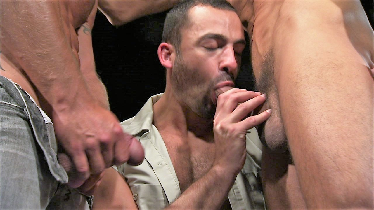Gay Neighbor Threesome Porn