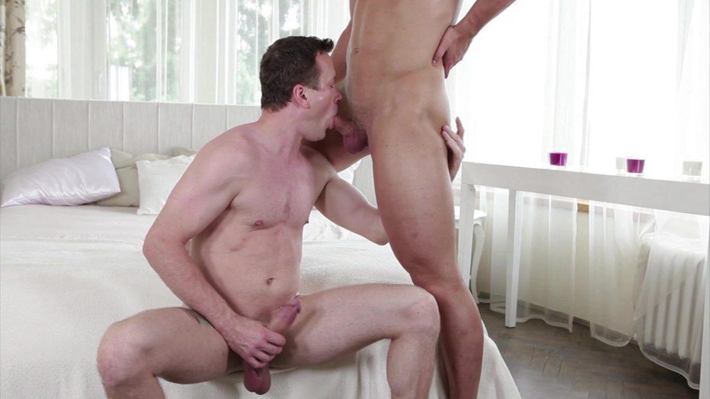 Georgio Black Luke II Gay Porn Blowjob