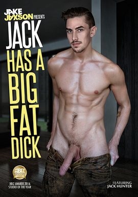 Hung gay porn star Jack Hunter in Jack has a big fat dick DVD at nakedsword