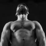 muscle jock from below