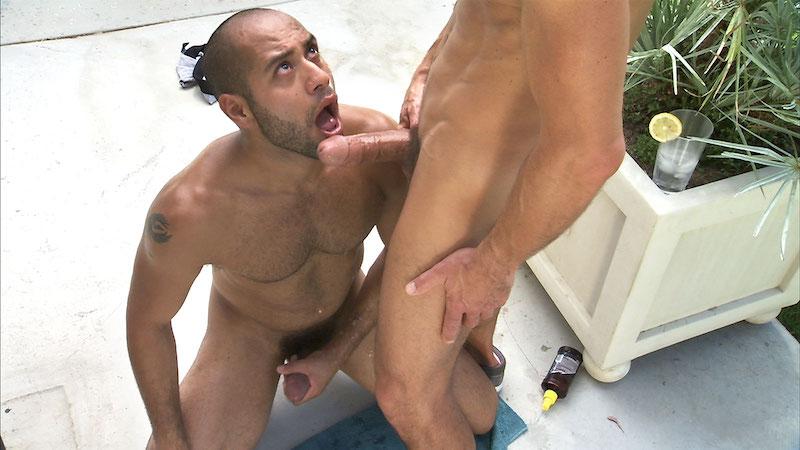 Leo Forte sucking David Anthony