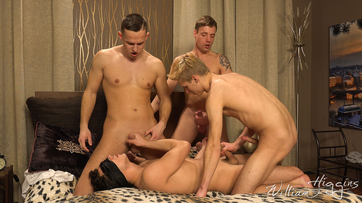 Ivanek Ukara in a circle jerking party