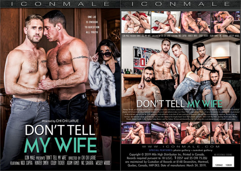 Don't Tell My Wife DVD from Icon Male