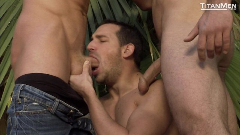 men sucking cocks in Intuition DVD from TitanMen