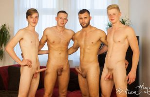 click to watch this gay bareback fourgy