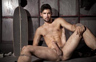Benjamin Godfre naked and hard