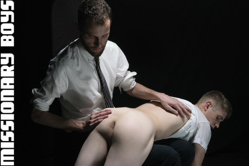 twink boy being spanked by a daddy in a suit
