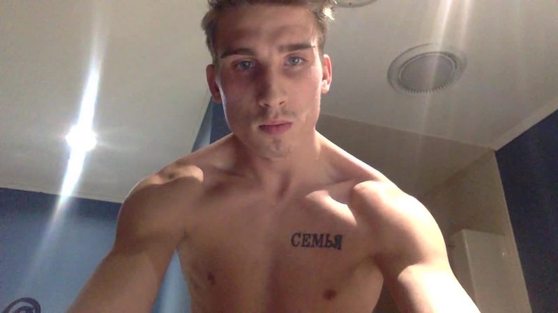 click to watch Cam Guy Nick Brennan enjoying his cock