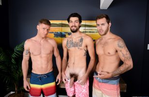 Click to see this jock threesome video