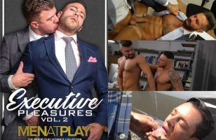 Click to watch men at play Executive Pleasures Vol. 2 dvd at TLA Gay Unlimited