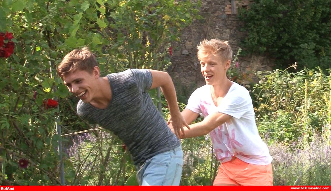 Click to watch Bareback Twink Boys Sven Basquiat and Justin Saradon on video at Bel Ami Online