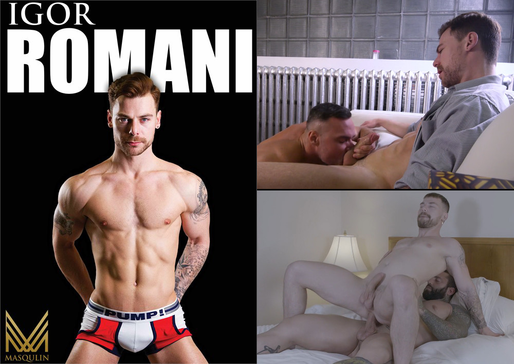 Click to watch handsome hunk Igor Romani on video at TLA Gay Unlimited