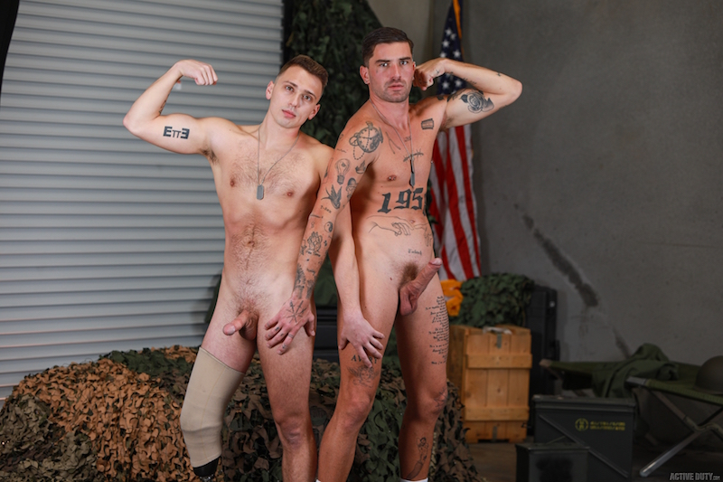 Active Duty military cock