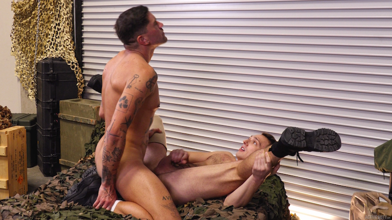 gay military cock