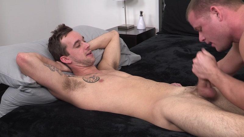 sucking straight cock