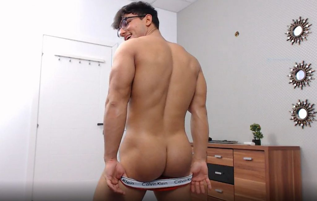 live gay porn chat model