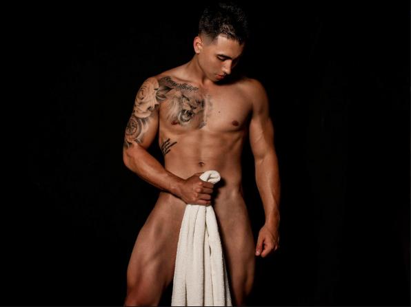 Hot Tattooed Muscle Stud Ryan Kingston