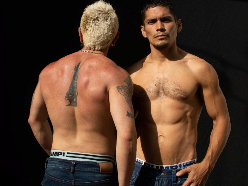 live gay sex cams duo Dante and Demian