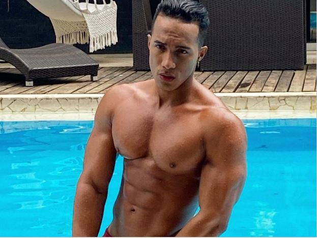 Latin Muscle Hunk
