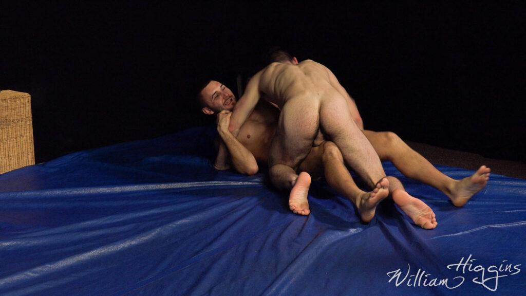 William Higgins straight wrestling